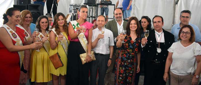 Pilar Zamora invita a todos los ciudadrealeños  a disfrutar de la Feria y Fiestas 2018