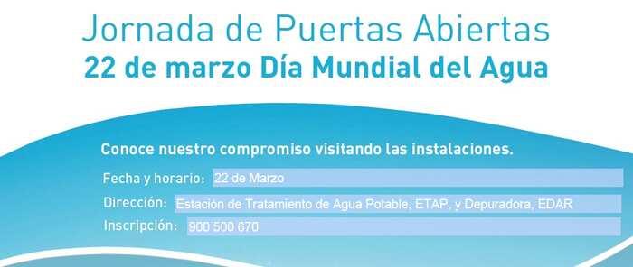 Celebra con Aguas de Puertollano el Día Mundial del Agua