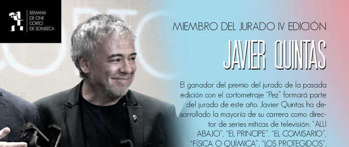 El director de 'La Casa de Papel', Javier Quintas, miembro del jurado en la IV Semana de Cine Corto de Sonseca