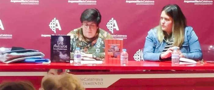La escritora rabanera Mercedes Soriano Trapero abrió ayer la XX Semana del Libro de Argamasilla de Calatrava