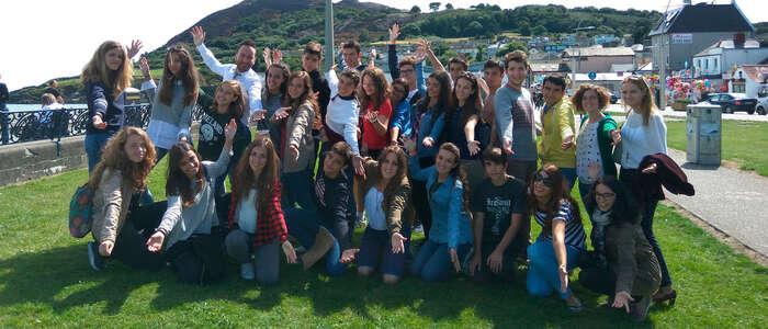 Representantes de la Consejería de Educación visitan a los alumnos de los cursos de idiomas en el extranjero subvencionados por el Gobierno regional