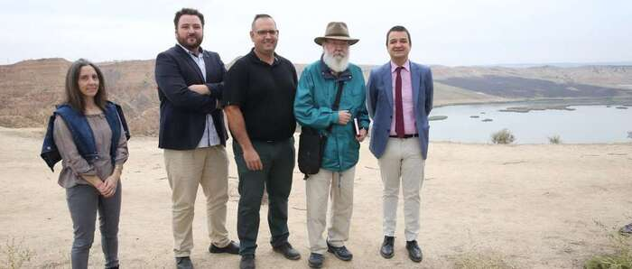 El Gobierno de Castilla-La Mancha reclama la preservación del caudal ecológico del Tajo desde 'Las Barrancas', espacio natural elegido por Cuerda para comenzar el rodaje de su última película
