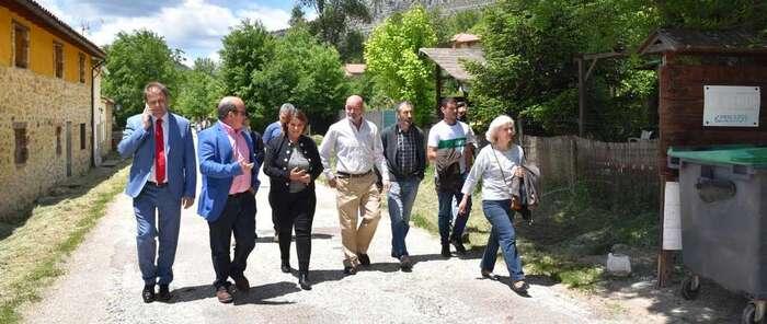 El Gobierno regional apuesta por llevar la igualdad real de oportunidades y el desarrollo a pequeños municipios de comarcas como la de Molina de Aragón