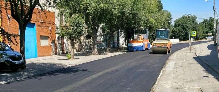 El Gobierno regional avanza que esta misma semana terminarán los trabajos de pavimentación en la calle Alcaudete y se continuará con la reparación del Puente de Hierro en Talavera de la Reina