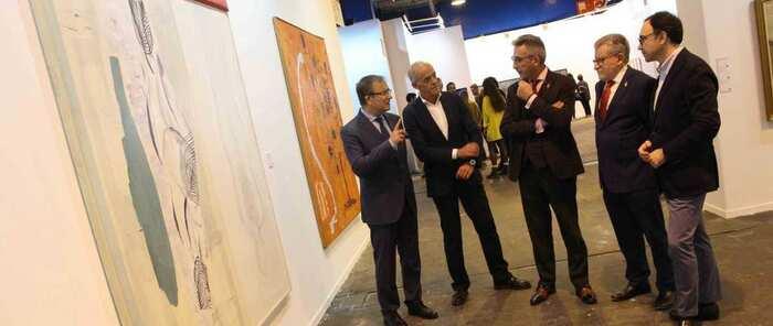 Castilla-La Mancha promociona el Museo de Arte de Valdepeñas en Estampa gracias al Plan para el fomento del arte contemporáneo