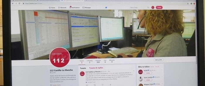 El 1-1-2 de Castilla-La Mancha empieza su andadura en Twitter para situar a las emergencias en una posición moderna y acorde a la sociedad actual