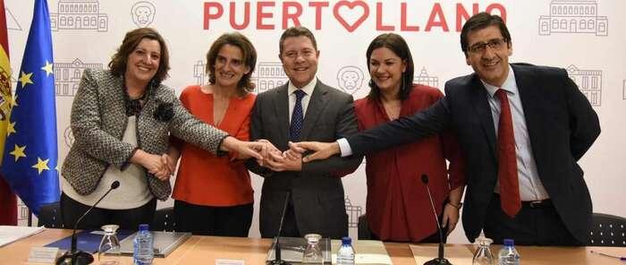 Emiliano García-Page firma un convenio con el Estado que, por fin, hace justicia con la comarca minera de Puertollano