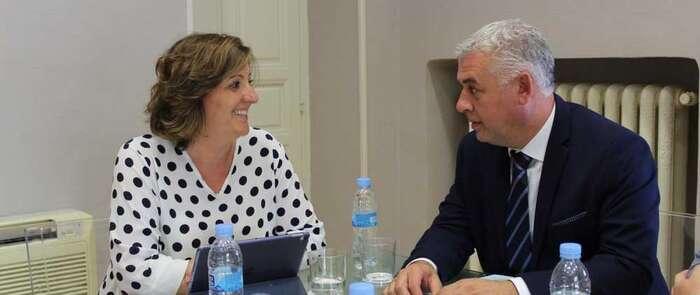 El Gobierno regional y la Diputación de Guadalajara abordan la próxima convocatoria del Plan de Empleo y el impulso económico y turístico en la provincia