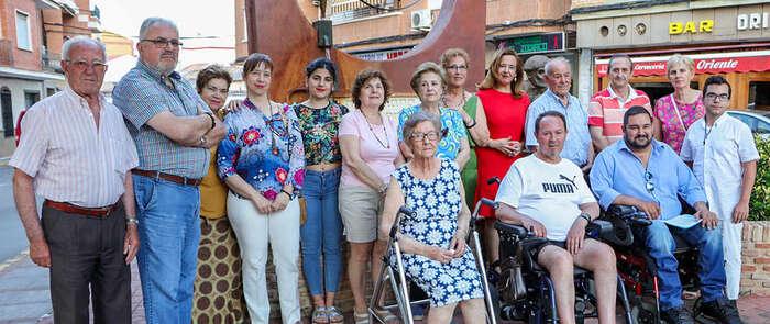 Argamasilla de Calatrava puso verde esperanza al Día Internacional del ELA