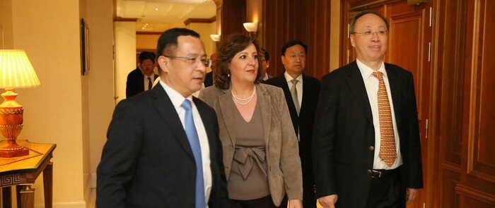 El Ejecutivo de Castilla-La Mancha estrecha relaciones con China a través del Gobierno de Sichuan