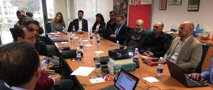 Jóvenes empresarios ciudadrealeños conocieron las franquicias de Eroski y como ser proveedores de esta empresa