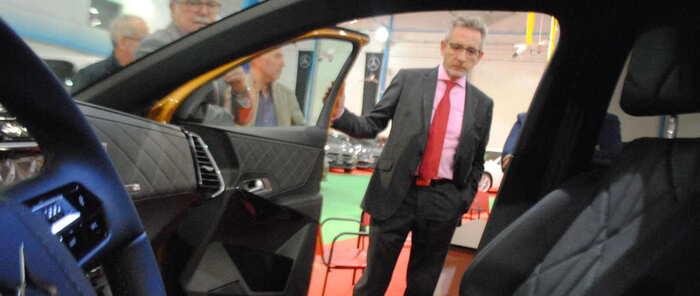 Jesús Martín arranca el 'XXII Salón del Automóvil de Valdepeñas'