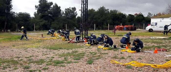 Emergencia Ciudad Real: El SCIS imparte un curso de formación intensivo a los 37 bomberos que en breve se incorporarán al servicio