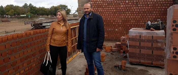 Avanza a buen ritmo la construcción de la nueva Estación de Tratamiento de Agua Potable de Villarta de San Juan