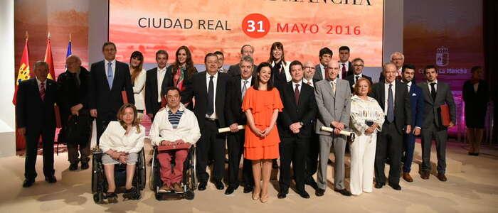 Imagen: Gran puesta en escena para celebrar el Día de la Región en Ciudad Real