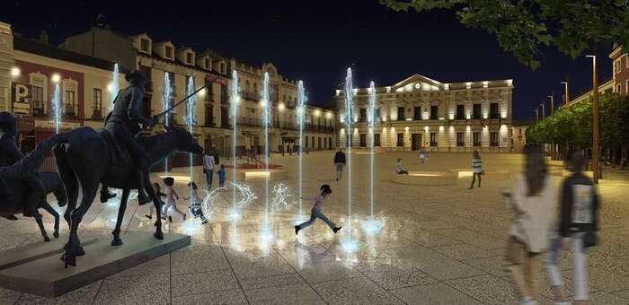Presentado el proyecto de remodelación de la Plaza de España, una plaza integradora, accesible y sostenible