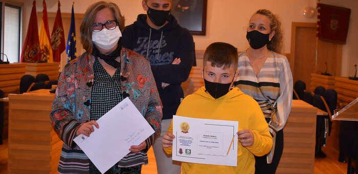 Jimena Lasanta y Marcos de la Cruz ganan el concurso de dibujo del Día de las personas consumidoras 2021