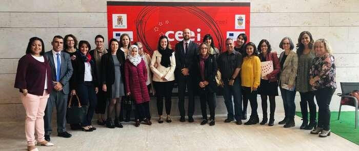 La lanzadera de empleo de Azuqueca de Henares visita el CEEI de Guadalajara