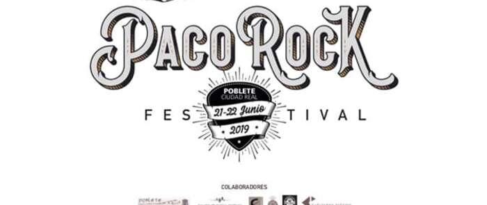 Poblete redobla su apoyo al rock con la celebración de la quinta edición de 'Paco Rock Festival', el 21 y 22 de junio