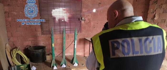 Incautado un tipo de explosivo altamente peligroso en una finca agrícola de Alcázar de San Juan