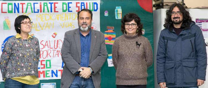 El colegio 'San Lucas y María' conmemora el Día Mundial de la Salud de la mano del Ayuntamiento y Médicos del Mundo