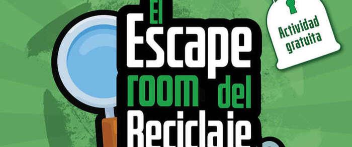El parque de La Constitución de Azuqueca acoge 'El Escape room del reciclaje'