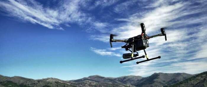Telefónica realiza con éxito un piloto con drones basado en soluciones loT para la deteccíon temprana de incendios
