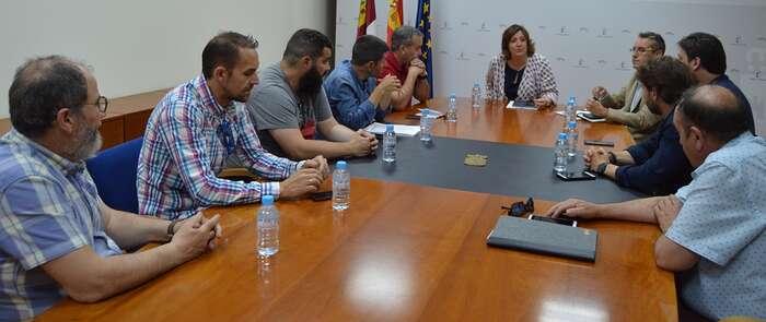 El Gobierno de Castilla-La Mancha se reúne con el Comité de Empresa de ICSA