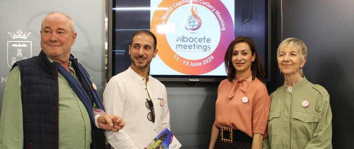 """Albacete estará presente en la feria """"Coutella 2019"""" en Francia para promocionar el tercer encuentro mundial de capitales de la cuchillería"""