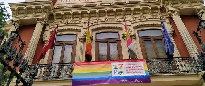 La Diputación de Albacete se suma al Día Internacional contra la Discriminación por Orientación Sexual e Identidad de Género