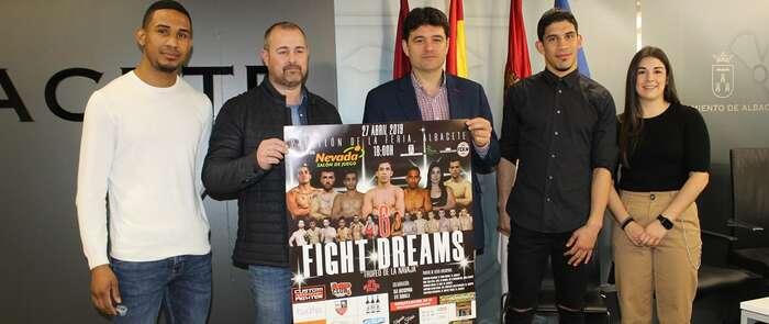 """Albacete acogerá el próximo 27 de abril el sexto trofeo internacional de Kick Boxing """"La Navaja"""" Fight Dreams"""