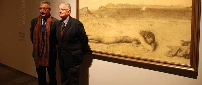 Alfombra roja para conmemorar el 80 aniversario de la Exposición Internacional de Artes Plásticas de Valdepeñas