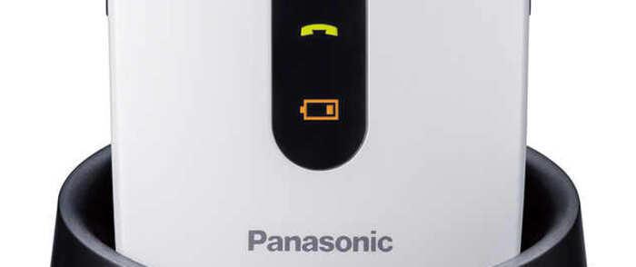 Panasonic lanza dos teléfonos móviles para los mayores de la casa