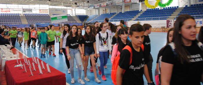 """Patón destaca """"el éxito de las Olimpiadas Escolares de Valdepeñas, reflejo de las Escuelas Deportivas Municipales"""""""