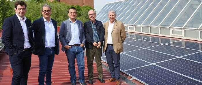 En cuatro años toda la energía eléctrica de los edificios públicos del Gobierno de Castilla-La Mancha procederá de fuentes renovables