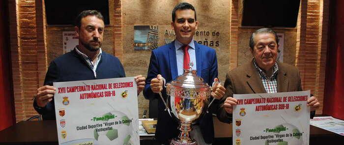 Valdepeñas, escenario nacional de la Fase Final del Campeonato de Selecciones Sub 18 de Fútbol 11