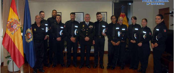 La Policía Nacional forma en Toledo a diez alumnos de la Academia de Policía de Baja Sajonia