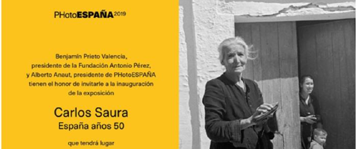 El Museo de Fotografía de Huete inaugura la exposición Carlos Saura, España años 50