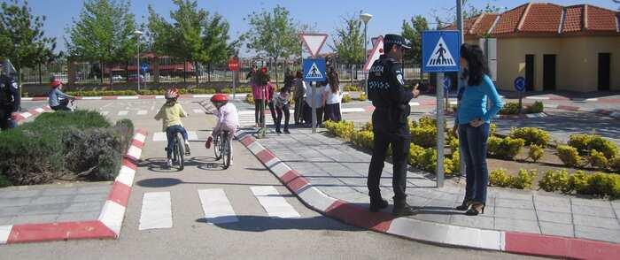 Unos 1.200 estudiantes de Valdepeñas participan en los Talleres Municipales de Educación Vial