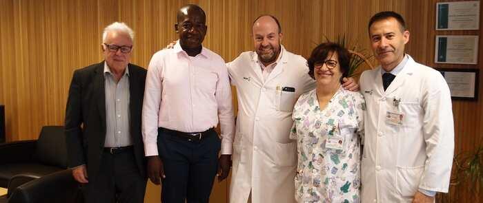 Un equipo de Enfermería del Hospital de Ciudad Real coopera en la formación de profesionales para la creación de un hospital en Guinea