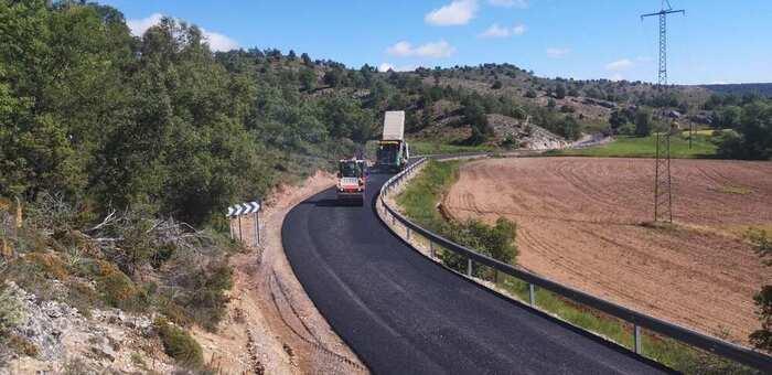 El Gobierno de Castilla-La Mancha inicia las obras de mejora de la CM-2017 entre Anquela y Turmiel, en la provincia de Guadalajara