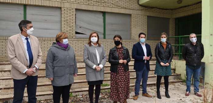 La Diputación de Ciudad Real aporta 100.000 euros para la rehabilitación del colegio Ciudad Jardín, nueva sede la Universidad Popular de la capital