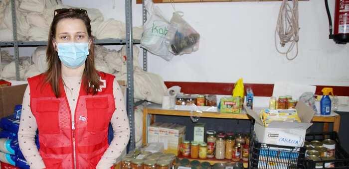 Cruz Roja La Solana distribuye más de 1.700 kilos de alimentos en la localidad