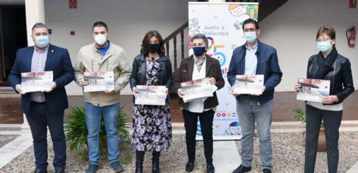 La Diputación de Ciudad Real colabora en el calendario solidario de AFANION con la impresión de los 4.000 ejemplares que se ponen hoy a la venta