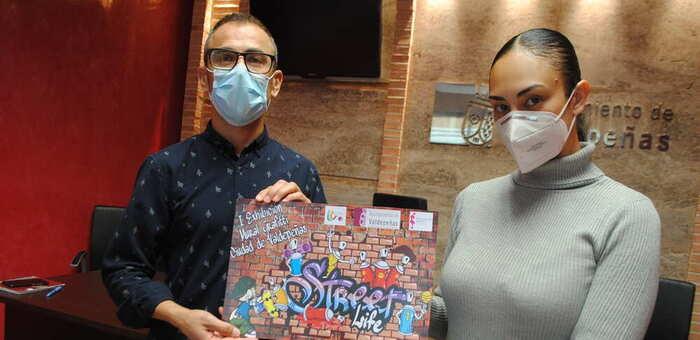 Juventud y Deportes convocan la I Exhibición Mural de Graffiti 'Ciudad de Valdepeñas'