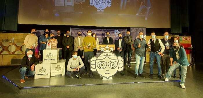 Abycine 2020 toca a su fin habiendo hecho posible que más de 200 jóvenes de la provincia hayan disfrutado de los 'Encuentros' con el director de Tadeo Jones gracias a la Diputación de Albacete