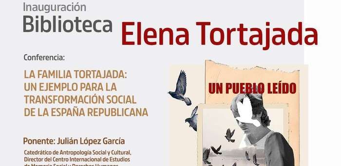 """IU Valdepeñas inaugura la Biblioteca Popular """"Elena Tortajada"""" el próximo viernes 23 de abril coincidiendo con el Día del Libro."""