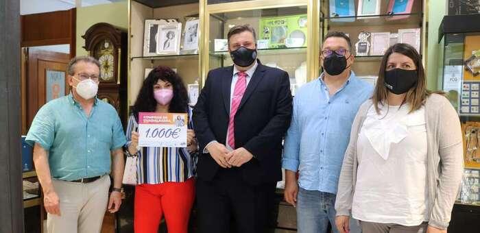 La Concejalía de Comercio entrega 7.000 euros en premios correspondientes a la campaña de primavera en Guadalajara