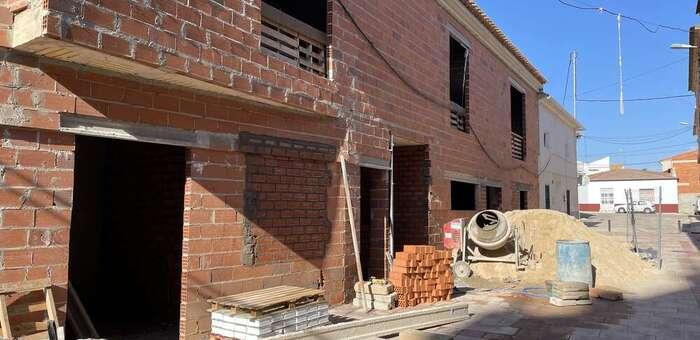 En ejecución la última fase de las obras de construcción del nuevo Consultorio Local de Cenizate