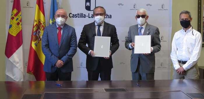 El Gobierno de Castilla-La Mancha y Cruz Roja refuerzan su colaboración en asistencia ante situaciones de emergencia